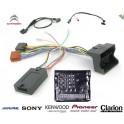 COMMANDE VOLANT Peugeot Expert 2008- Pour Pioneer complet avec interface specifique