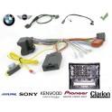 COMMANDE AU VOLANT BMW SERIE 3 2008-2012 (E90-E91) - Pour SONY complet avec interface specifique