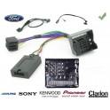 COMMANDE AU VOLANT Ford Focus 2008- - Pour SONY complet avec interface specifique